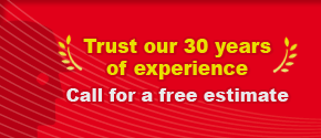 Trust our 30 years of experience